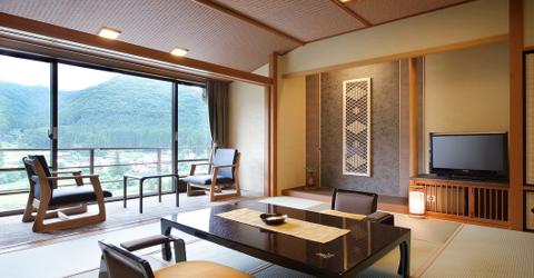 高級旅館 鬼怒川温泉【若竹の庄】と千手ケ浜【クリンソウ群生地】
